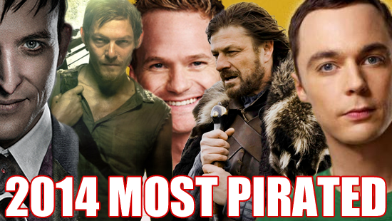 The Top Five Most Pirated Television Shows of 2014
