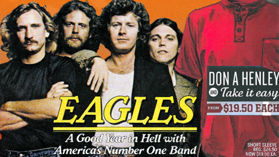 "Clothing Company Settles and Apologizes to Eagles' Frontman over ""Don-A-Henley"" Joke"