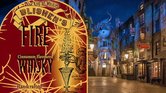 """Harry Potter and the Incredibly Long """"Fire Whisky"""" Trademark"""