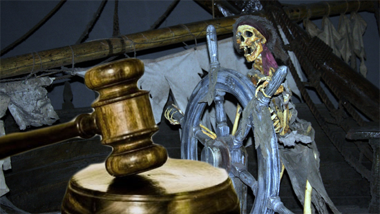 "Disney Makes ""Pirates of the Caribbean"" Copyright Lawsuit Walk the Plank"