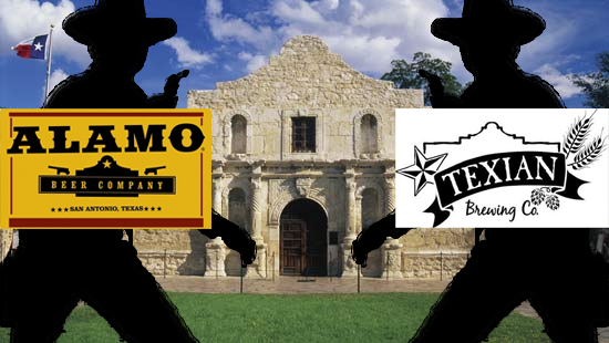 Breweries Battle at the Alamo