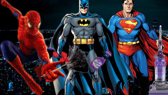 """Costumed Janitors Abandon """"Superhero"""" Trademark Fight with Marvel and DC Comics"""