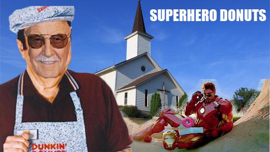 "Marvel and DC Comics Not Praising Biblical ""Superhero"" Donuts"