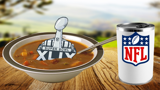"""NFL to Cool the """"Souper Bowl"""" Trademark?"""