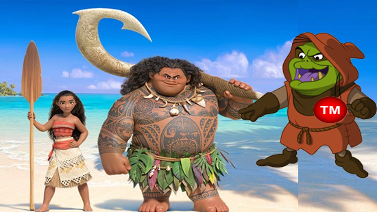 "Disney Fight Getting Dirty over Ownership to Princess ""Moana"""