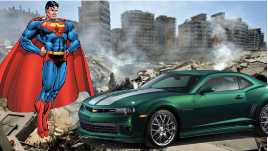 """Chevy and DC Comics Poised to Do Battle over """"Camero Krypton"""""""