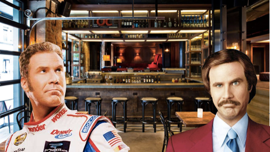New Will Ferrell Themed Bar Bound to Face Infringement Problems?