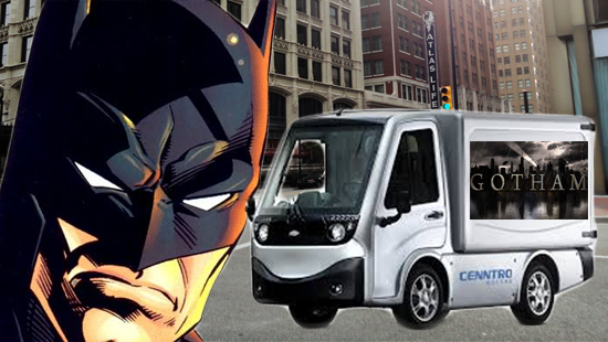 "DC Comics Seeks to Drain Battery of ""Gotham"" Electric Car"