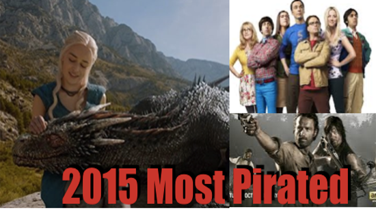 Top 10 Most Pirated Television Shows of 2015
