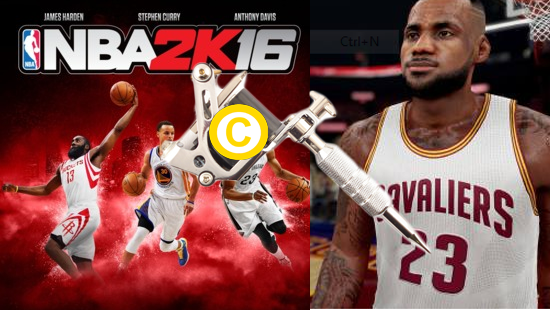 NBA 2K16 Makers Sued For Unauthorized Use of Lebron's and Kobe's Tattoos