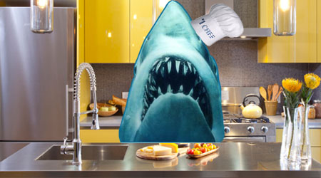"""Trademark Office Gives """"Jaws"""" Cooking Show the Hook"""
