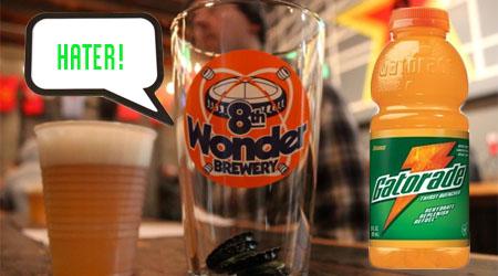 "Game On! Gatorade Opposes ""Haterade"" Beer"
