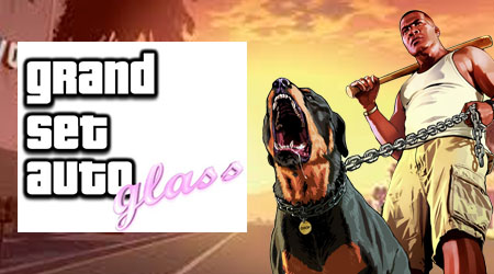Image of Grand Theft Auto Glass