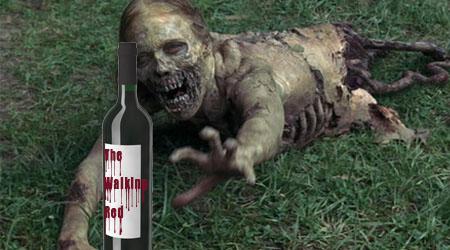 """""""The Walking Dead"""" Battles """"The Walking Red"""" Wine"""