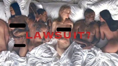 """Kanye West's """"Famous"""" Video: Protected Speech or Lawsuit Waiting to Happen?"""