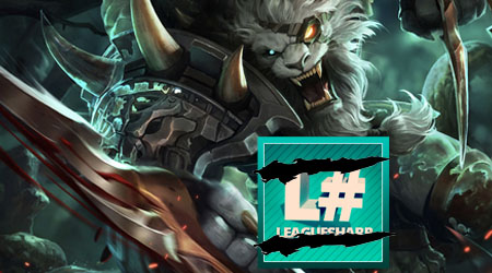 Image of League of Legends and Leaguesharp