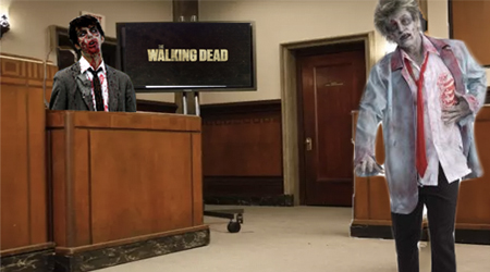 Image of The Walking Dead lawsuit