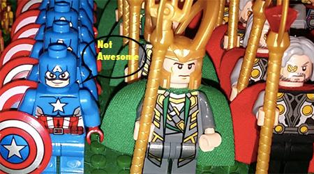 Image of counterfeit Lego