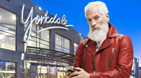 "Tis the Season: The Battle to Own ""Fashion Santa"""