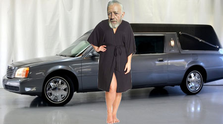"""The """"Barefoot Jedi"""" Running Funerals and into Trademark Problems"""
