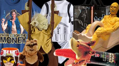 Image of The Last Jedi merchandise