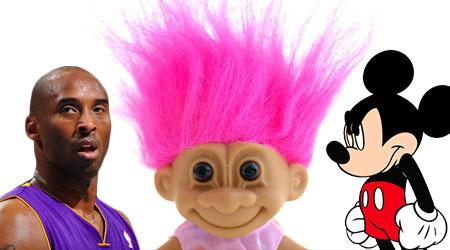 Prolific Trademark Filer Making Enemies with Disney, Kobe Bryant