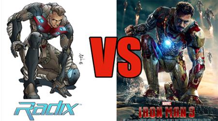 Image of Iron Man v. Radix