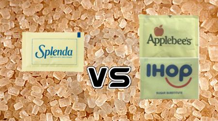 Applebee's and IHOP Knocking Off Splenda's Little Packets?