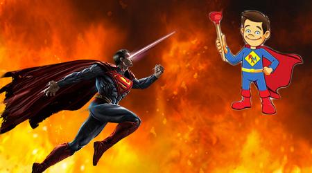 DC Comics to Flush Plumber's Caped Mascot?
