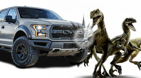 "Ford Fights Universal Over Jurassic World's ""Raptor"" Trademark"
