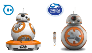 Image of Sphero and Spin Master BB-8