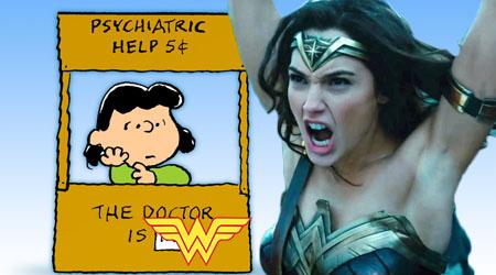 "DC Comics Depressed Over Therapist's ""Wonder Woman"" Trademark"