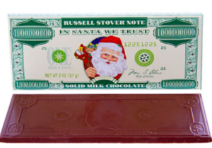 Image of Santa Claus Chocolate Money
