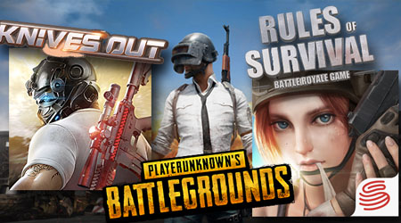 """PUBG""; Sues Copycat Games ""Rules of Survival"" and ""Knives Out"""