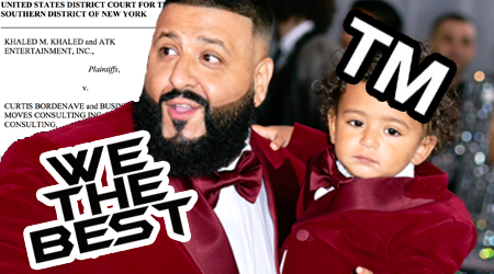 DJ Khaled Sues To Protect Infant Son's Trademark
