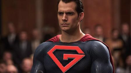 """Superman Battles """"Gutter Man"""" Over Logo"""