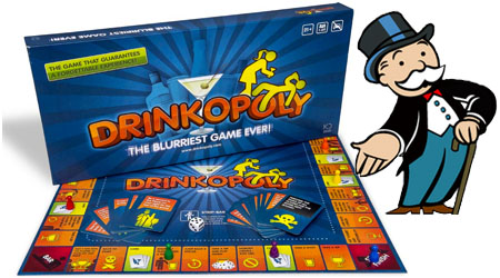 "Hasbro Not Playing With ""Drinkopoly"" Board Game"