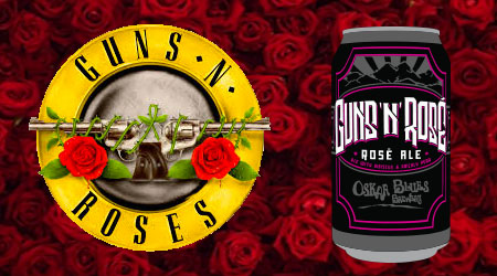 "*Update: Lawsuit Filed* Guns N' Roses Not Drinking ""Guns N Rose"" Beer"